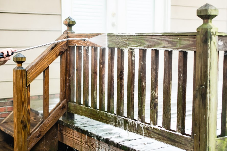 Deck Pressure Washing by Renew Crew of Northwest Arkansas