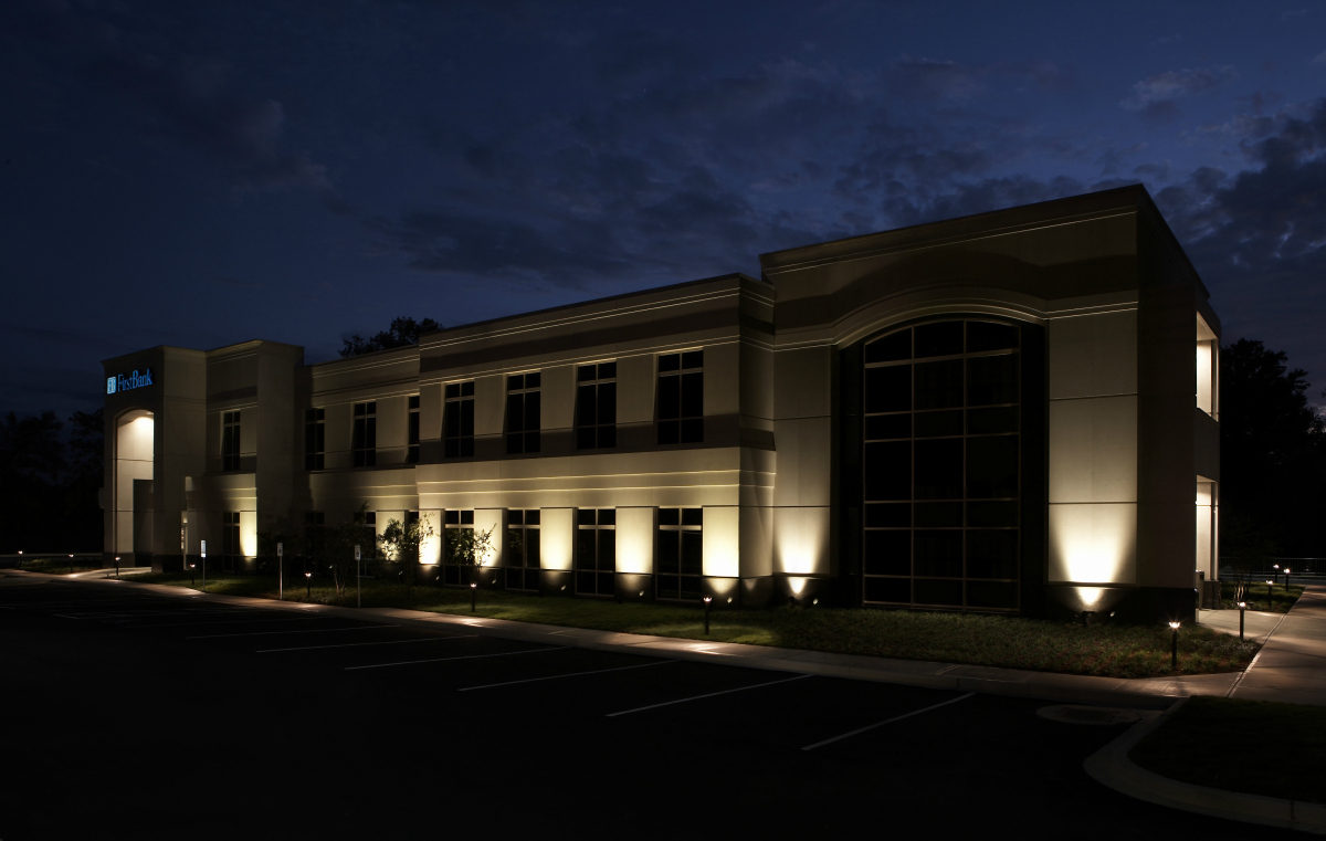 Your St. Louis commercial building is safer with outdoor lighting. It is a proven fact that by adding outdoor lighting to your residence or business exterior you can provide a safer and more secure environment for customers and employees.
