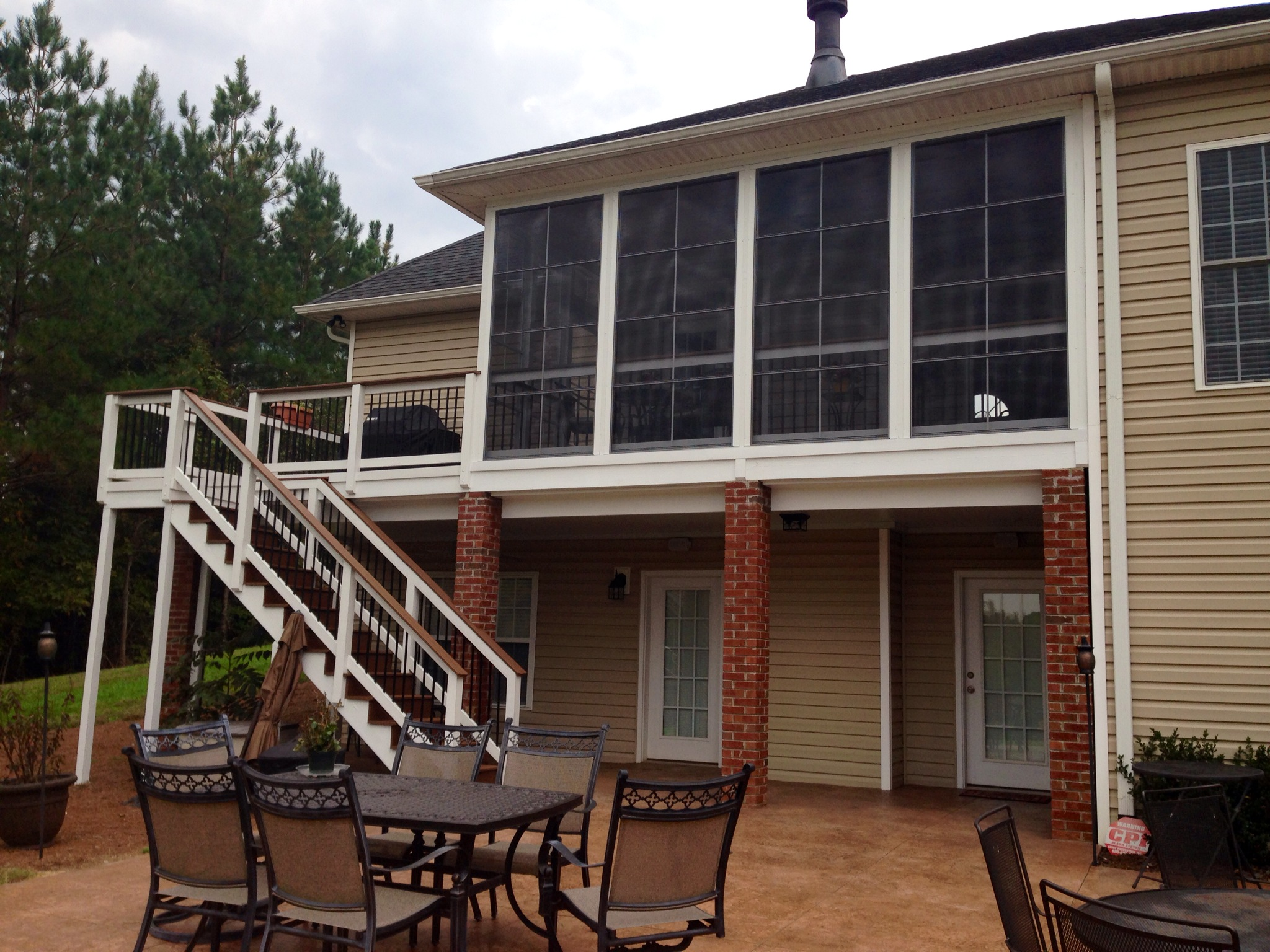 Eze breeze windows in raleigh for Porch durham