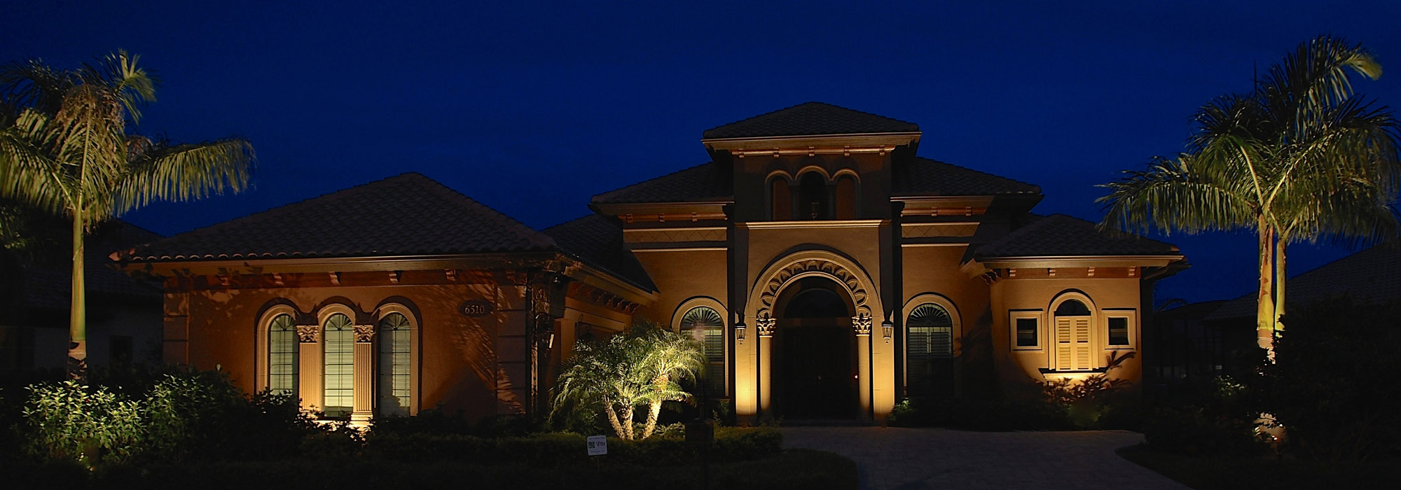 Outdoor landscape lighting naples : Outdoor lighting with perspectives of naples