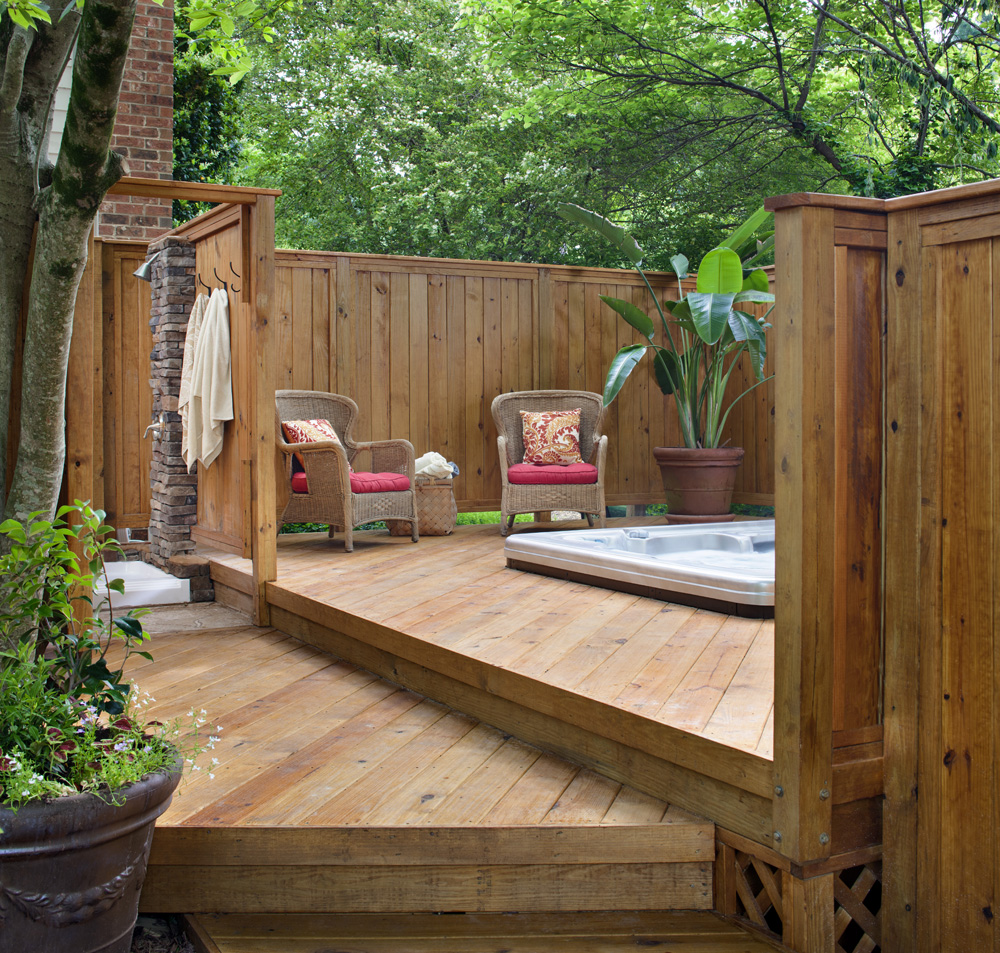 Why doesnt archadeck paint stain or seal your new wood deck if youre planning to tackle the staining painting or sealing of your deck yourself it is vital to make sure the deck is truly ready baanklon Gallery