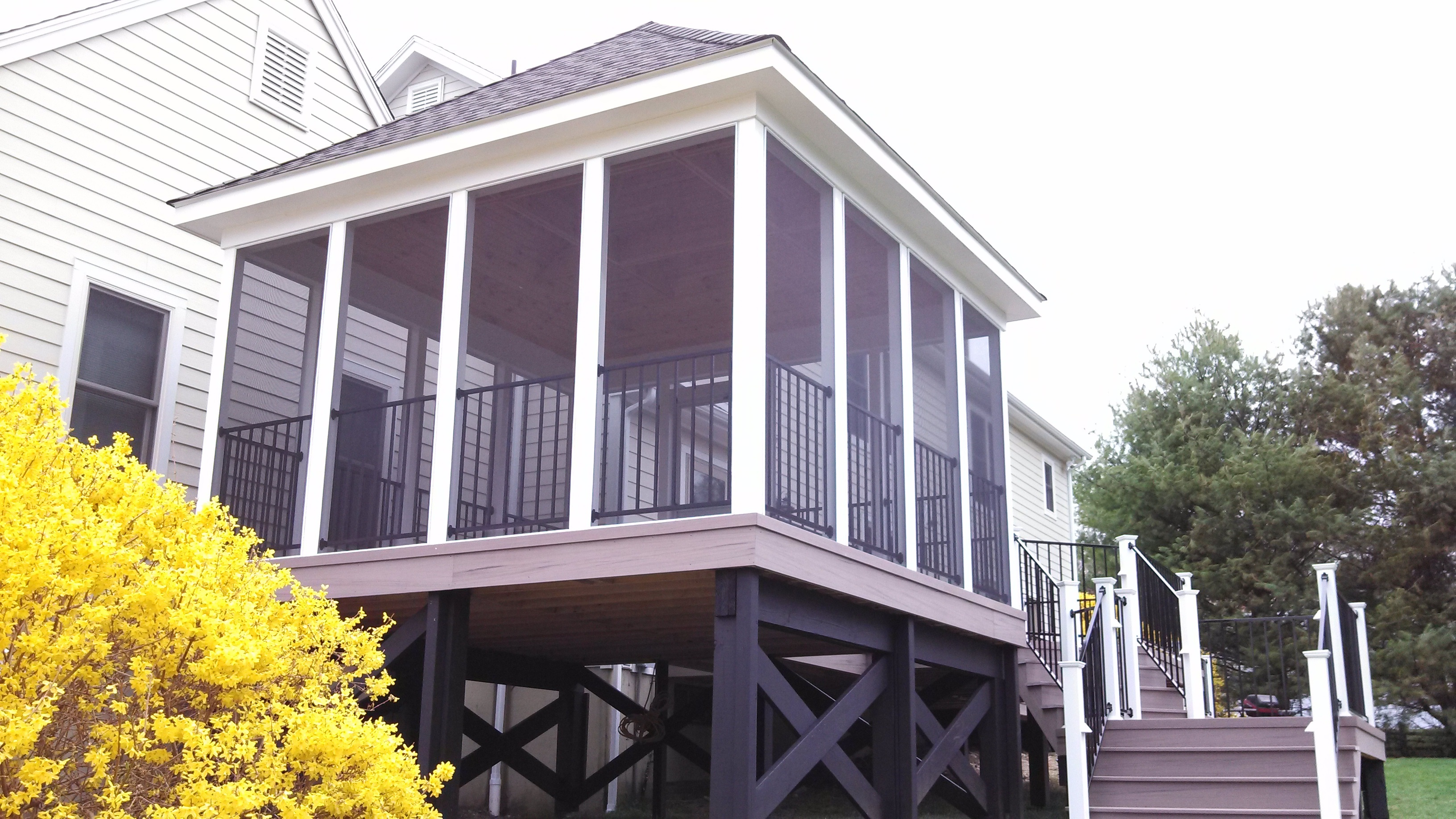 Nice Whether It Is A Central CT Deck And Patio Combination, Or A Screened Porch,  Deck And Pergola Combination With All The Trimmings U2014 Or More, We Take  Great ...