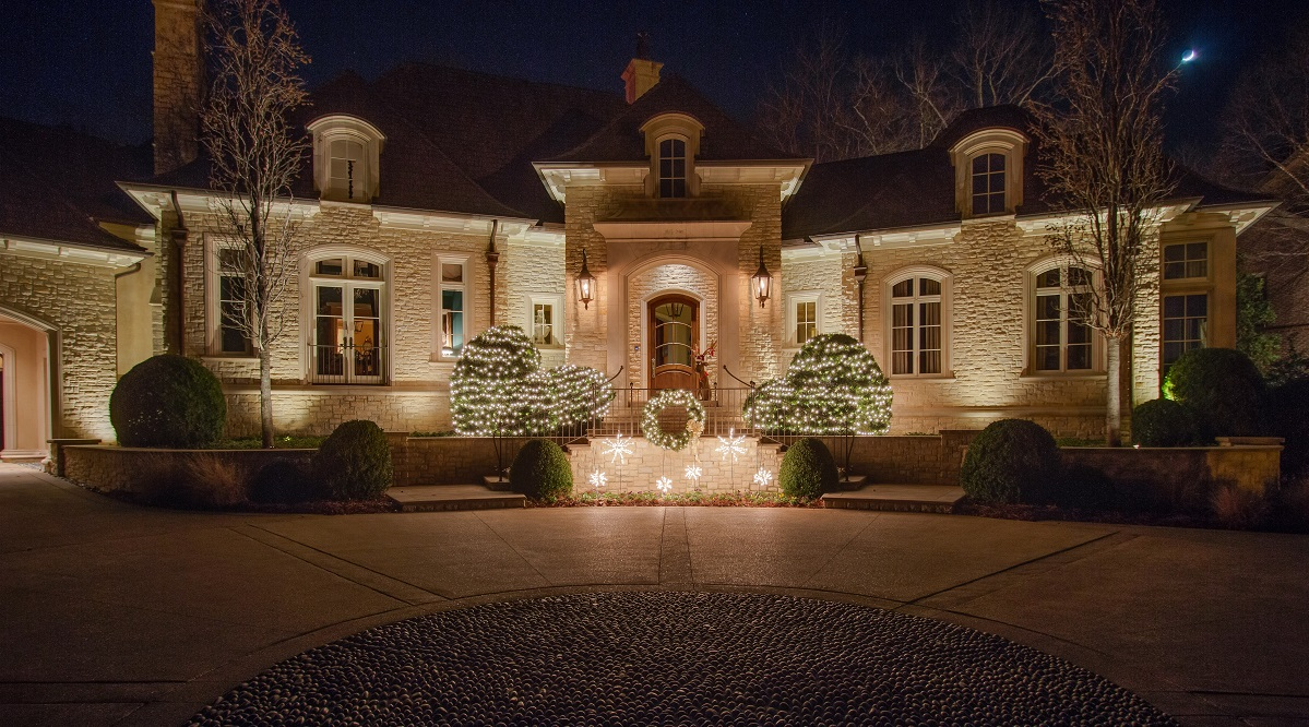 Outdoor lighting company lightscapes southern outdoor lighting - The Holidays May Seem Light Years Away But We Have Officially Crossed The Halfway Mark To Christmas With This In Mind Outdoor Lighting Perspectives Of