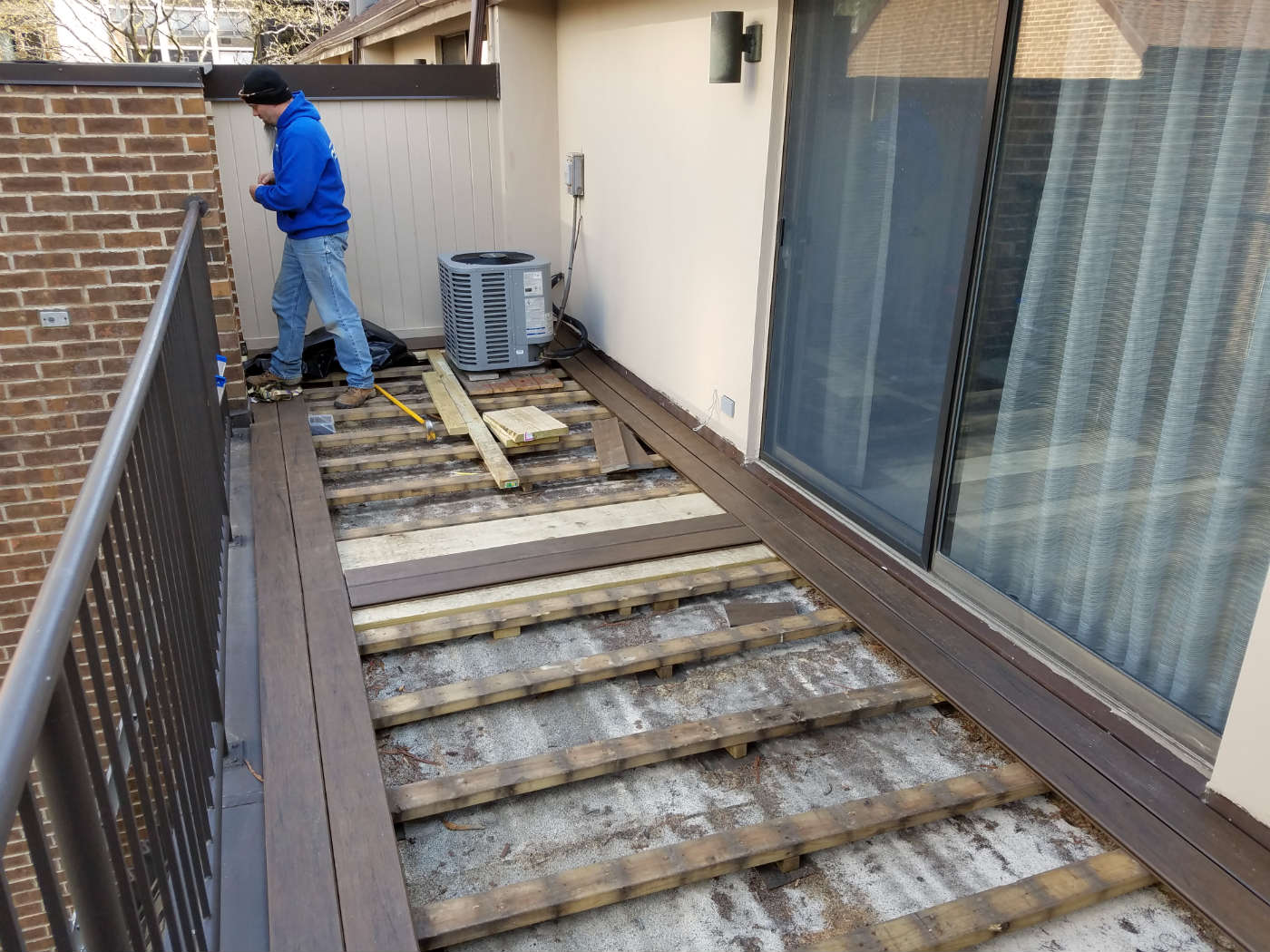 """Our Owner, David Berryhill Suggested To Make The Simple Deck More  Interesting By Designing The Deck As A €�picture Frame"""" By Having A Border  Going Around The"""