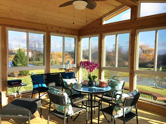 Chicagoland sunrooms 3 season rooms 4 season rooms sun for Sun room