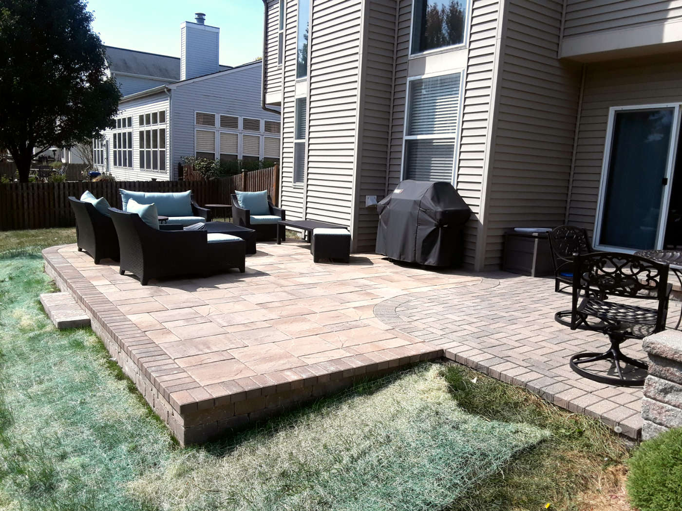 Belgard Paver Patio Design by Plainfield, IL Patio Designer, Archadeck of Chicagoland Thumbnail