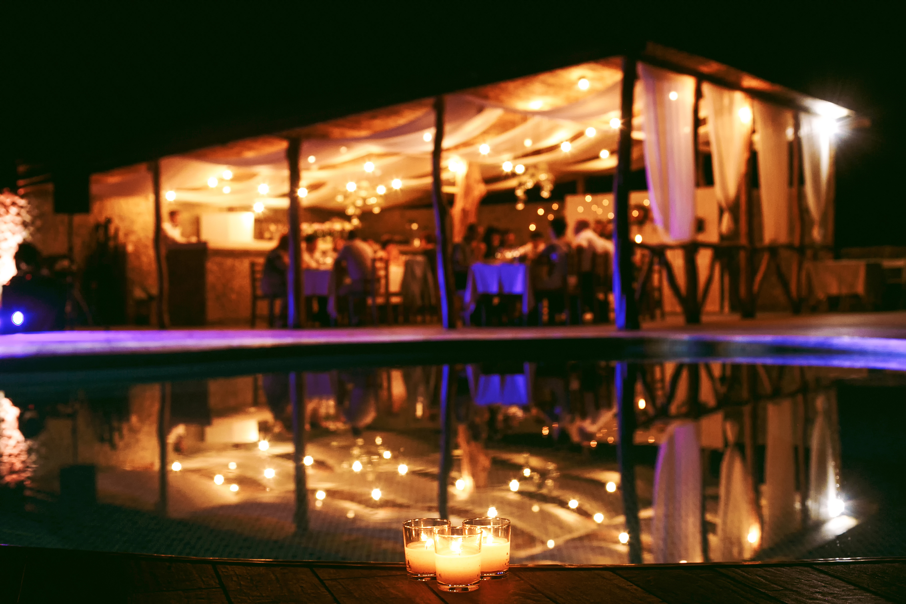 Nashville Outdoor Lighting for Weddings and Special Events