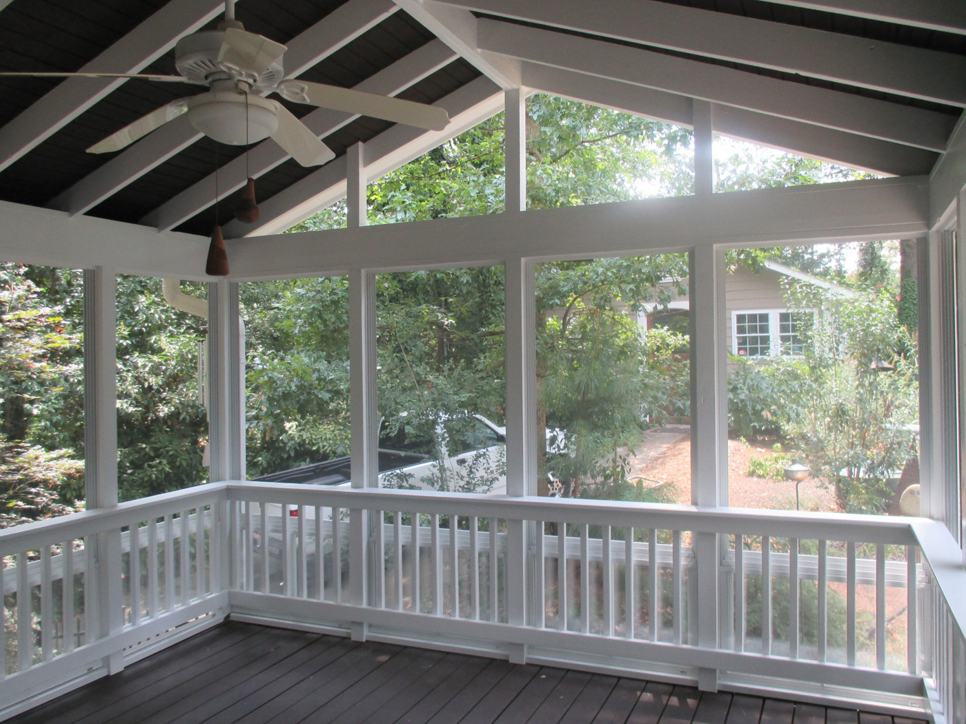 Safe Screened Porch : Charlotte eze breeze porches and season rooms
