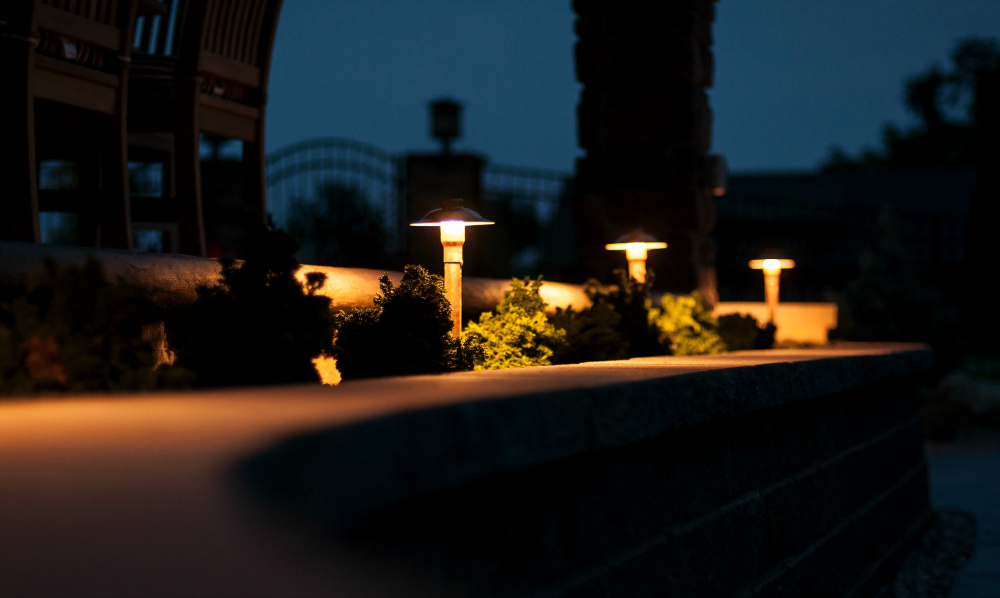 Add beauty and elegance with copper LED Path Lights. Outdoor Lighting Perspectives, Lancaster - West Chester offers a wide range of outdoor lighting fixtures that carry a 10 year warranty.  These copper low voltage LED path lights will patena beautifully over the years and are rated to burn 50,000 hours!  No yearly bulb changes with LED!