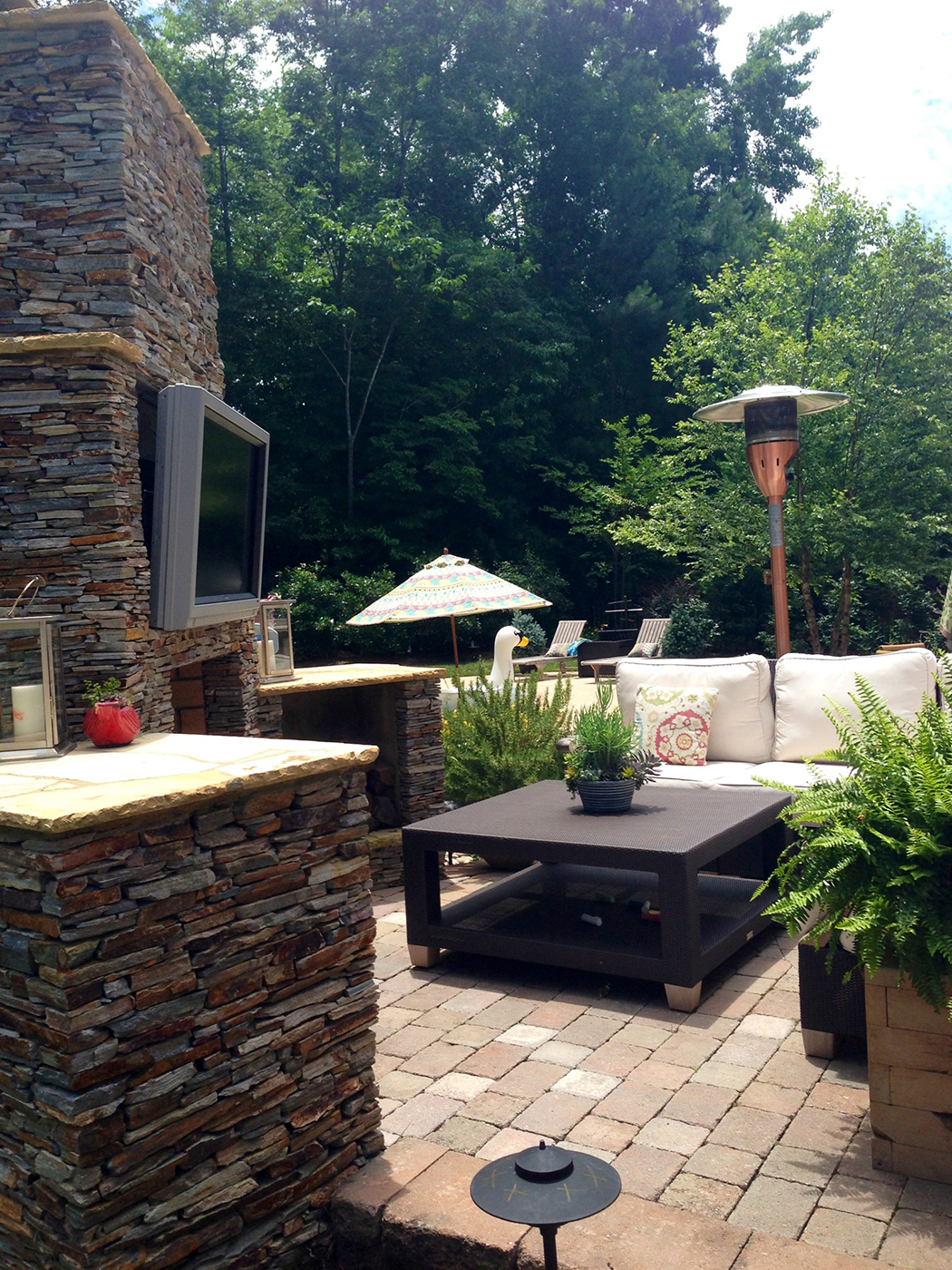 Lake Wylie Lakefront Outdoor Living Archadeck Outdoor Living