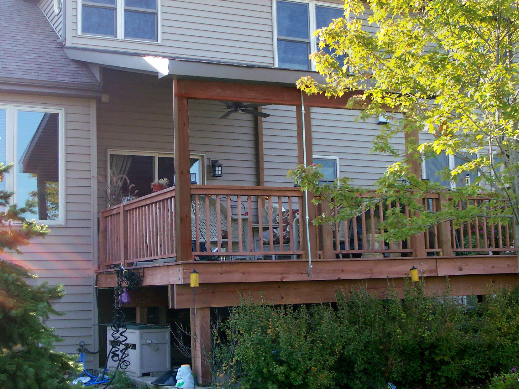 open porches and covered porches in chicagoland