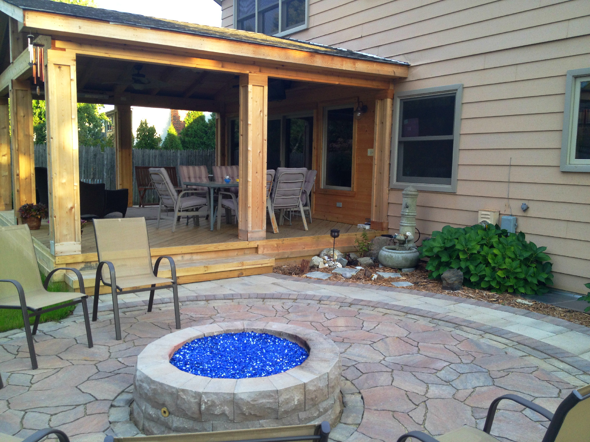 Open porches and covered porches in chicagoland for Open porch