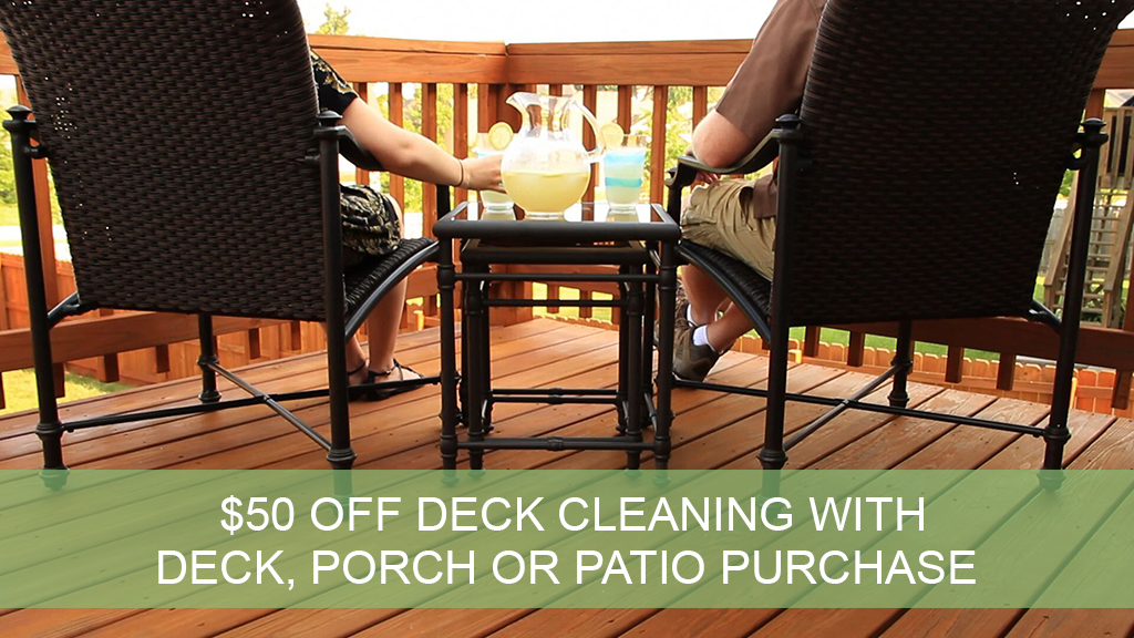 Offers archadeck outdoor living for Decking special offers