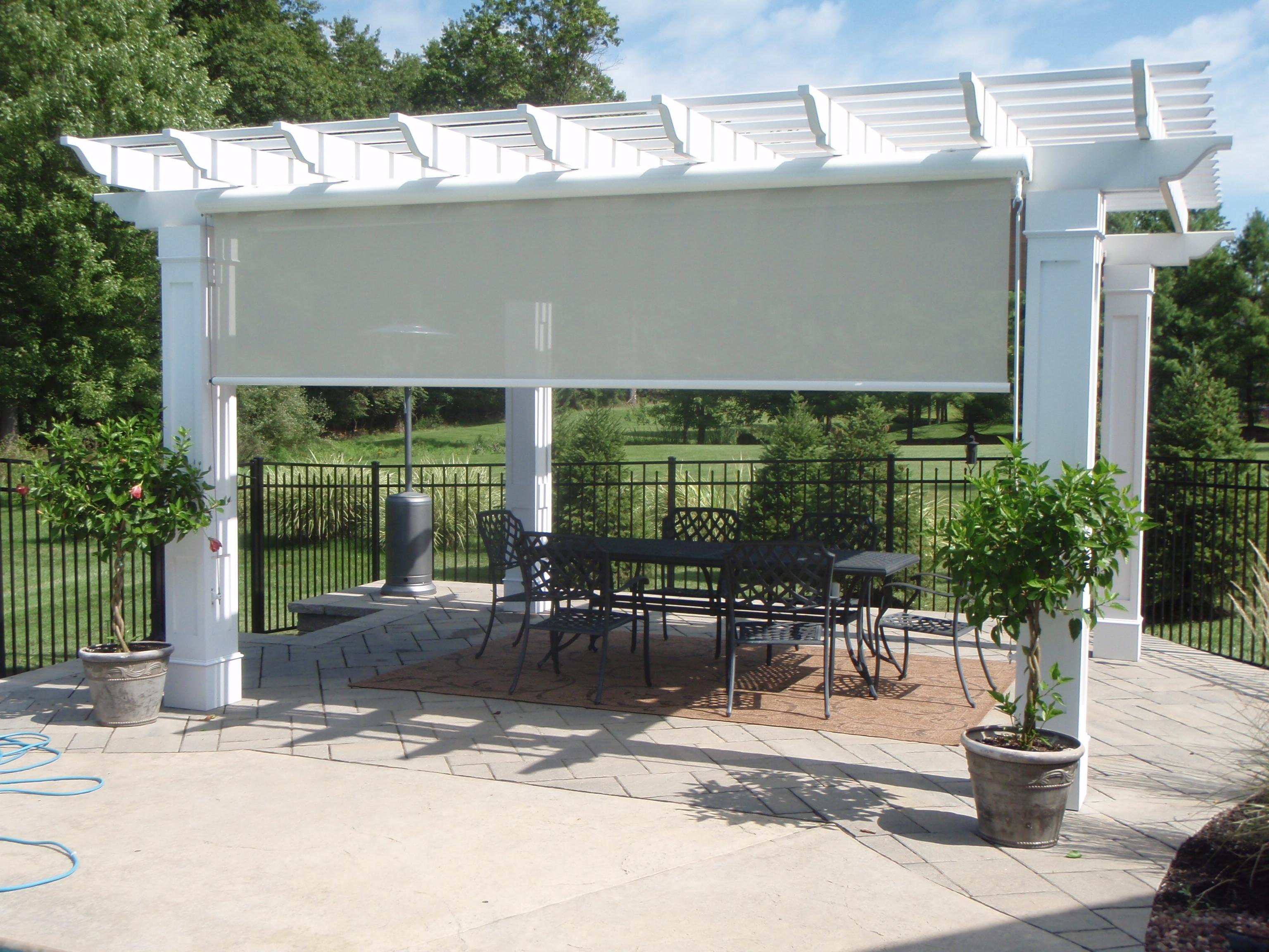Backyard Awnings Miami :  want in your pergola space with awnings, canopies and pergola covers