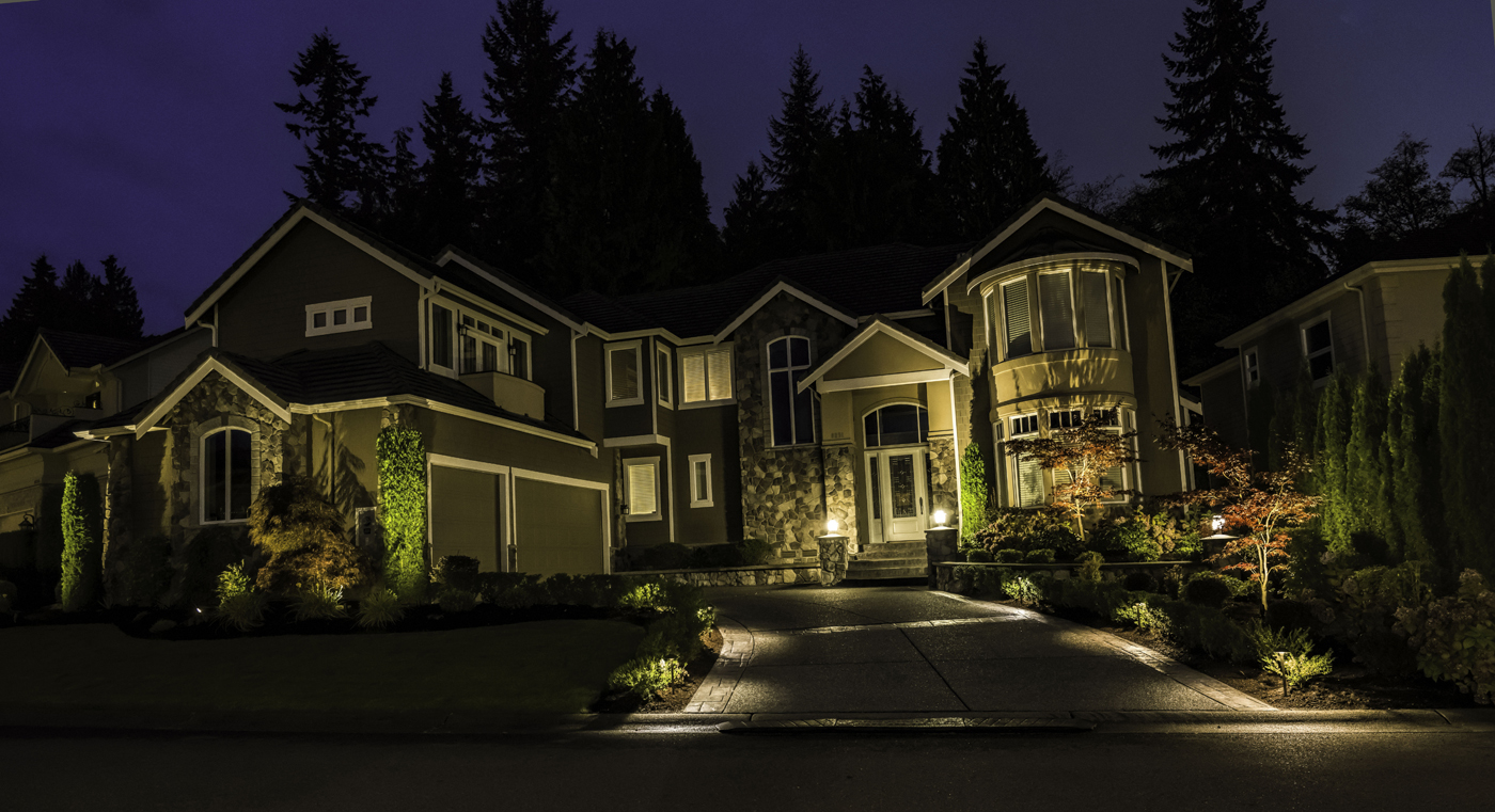 Led outdoor and landscape lighting in seattle bellevue redmond and the greater puget sound area for Redmond or swimming pool schedule