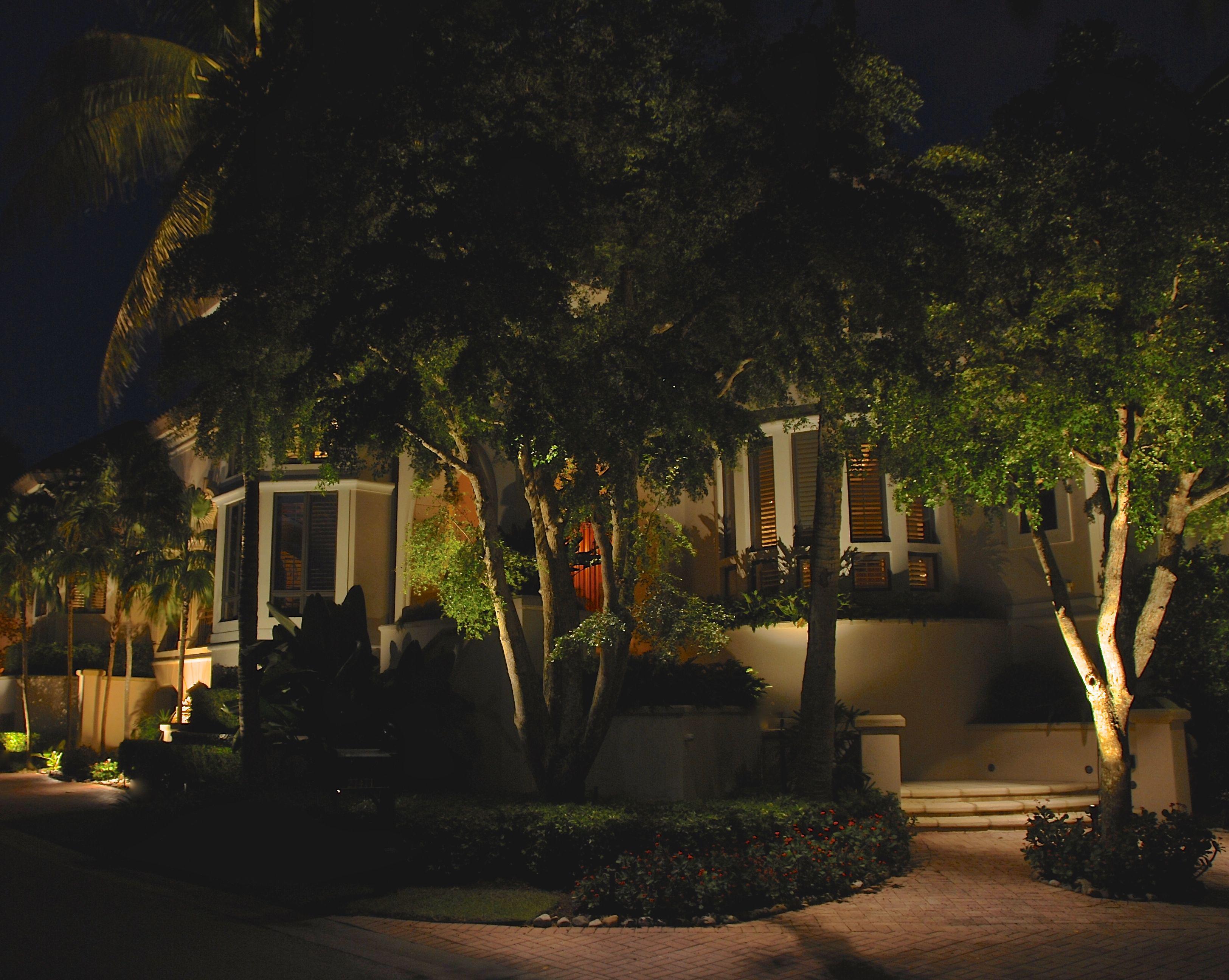 Vision Landscape Lighting Naples : Fort myers outdoor lighting inspiration gallery