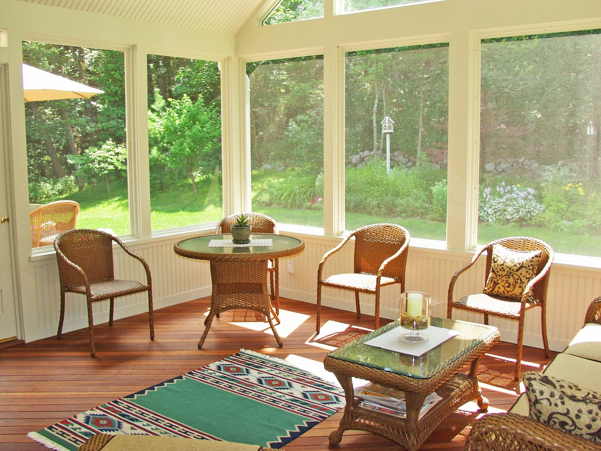 Porches archadeck outdoor living for 3 season sunroom designs