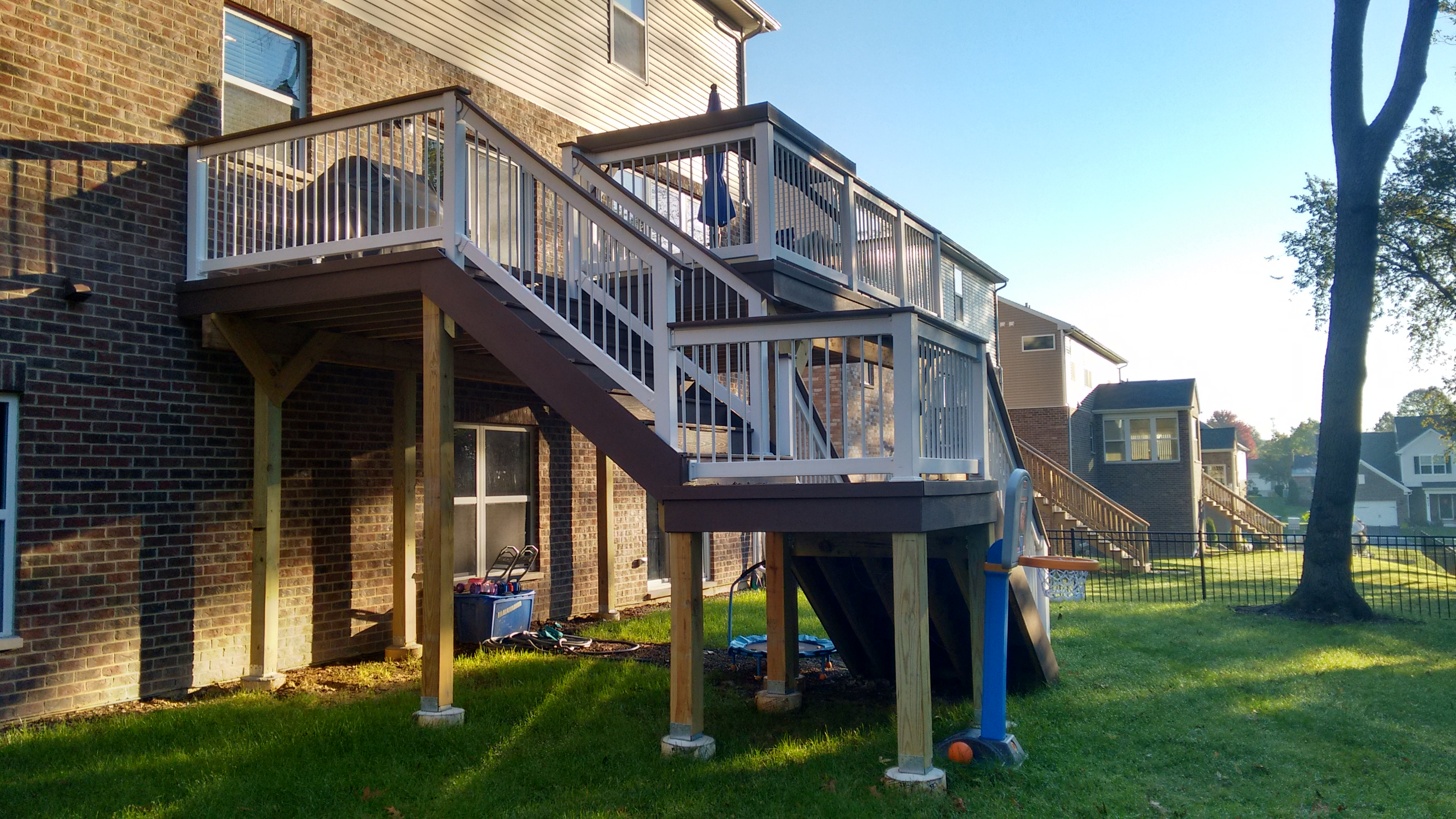 Timber Tech Low Maintenance Deck in Woodridge, IL Thumbnail