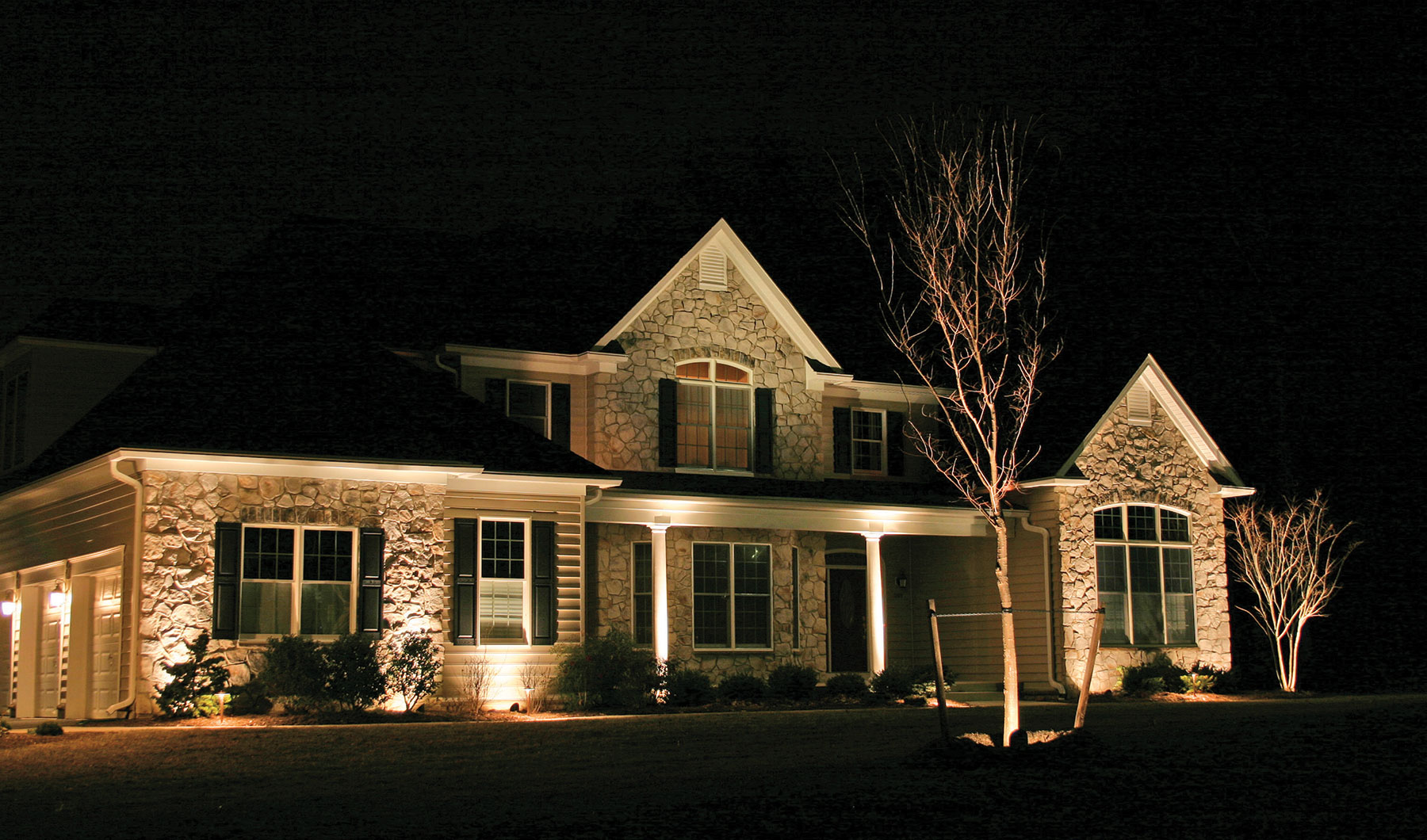 Columbus ohio outdoor led lighting Exterior accent lighting for home