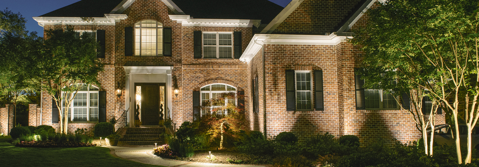 Residential outdoor lighting we offer the best quality lights custom lighting design by outdoor lighting experts meticulous installation and ongoing service and maintenance arubaitofo Image collections
