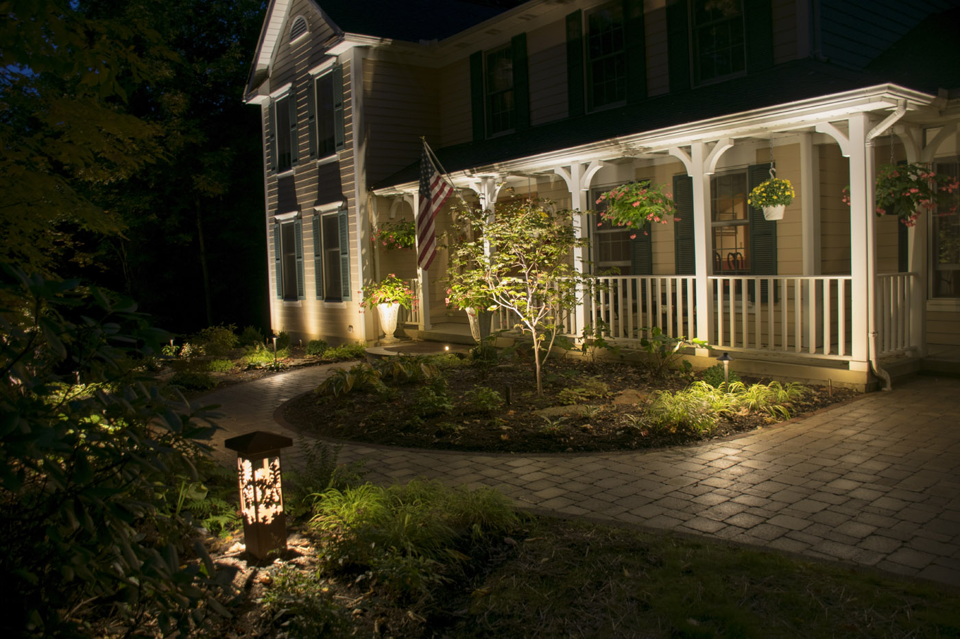 louisville decorative outdoor lighting adds mystique and charm to your design u