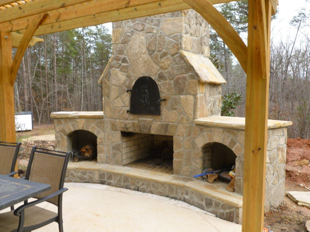 charlotte outdoor fire pits charlotte outdoor fireplace
