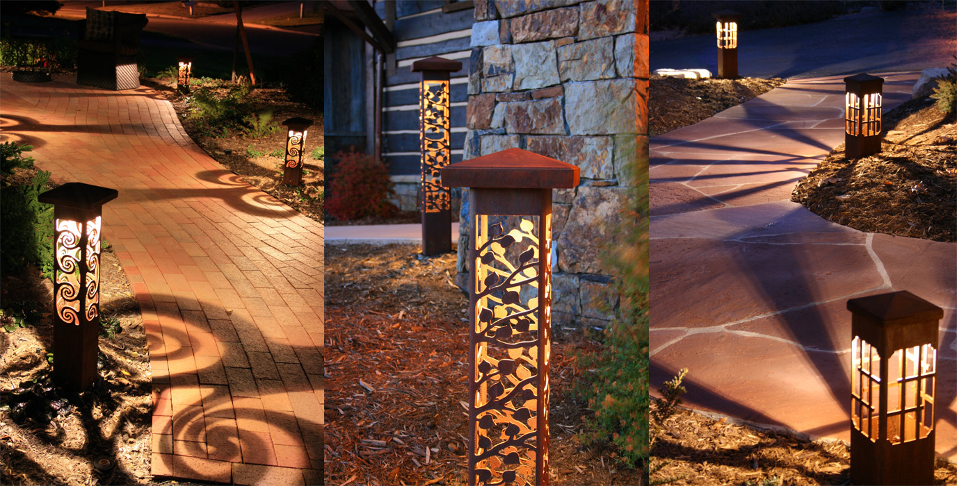 artistic outdoor lighting. stunning designer outdoor lighting in asheville artistic r