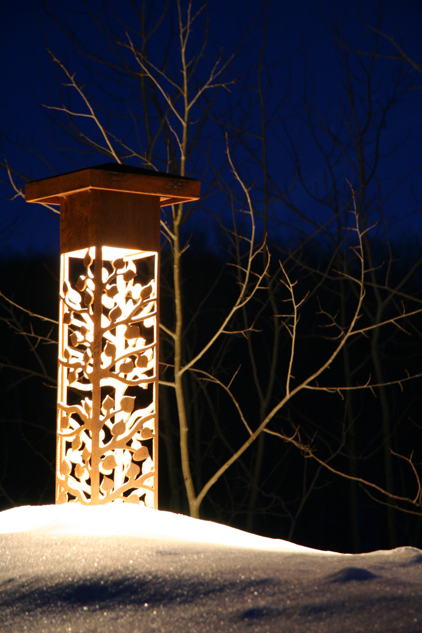 Decorative outdoor lighting asheville for Outside lawn lights