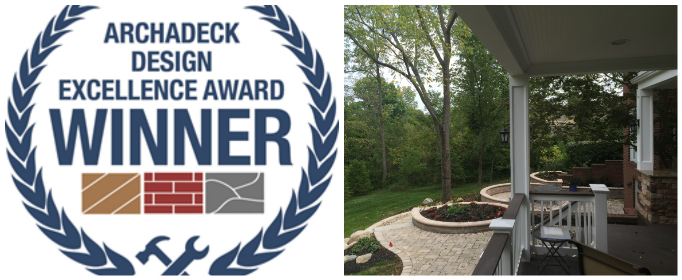 Archadeck of Columbus Wins 2015 Award for Excellence in Hardscapes  Thumbnail