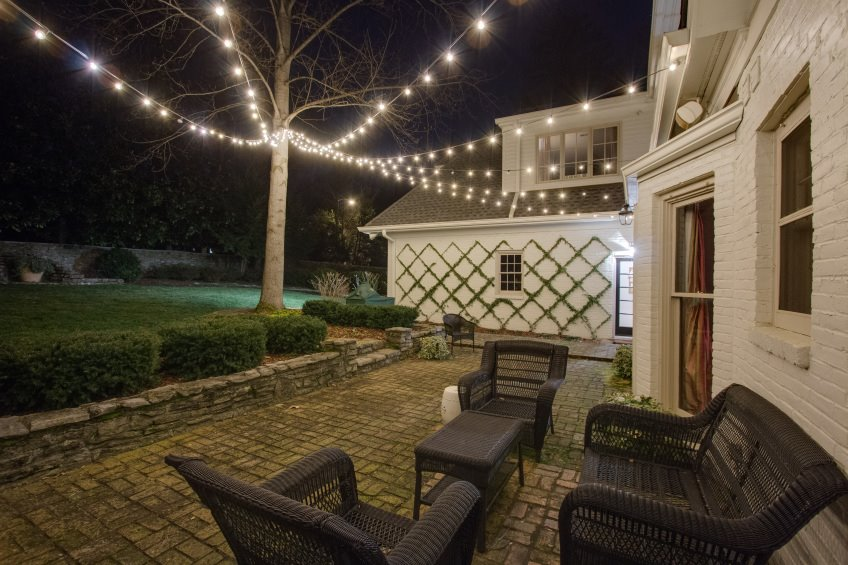 illuminated house lights blog outdoor lighting perspectives