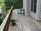 wood deck cleaning before