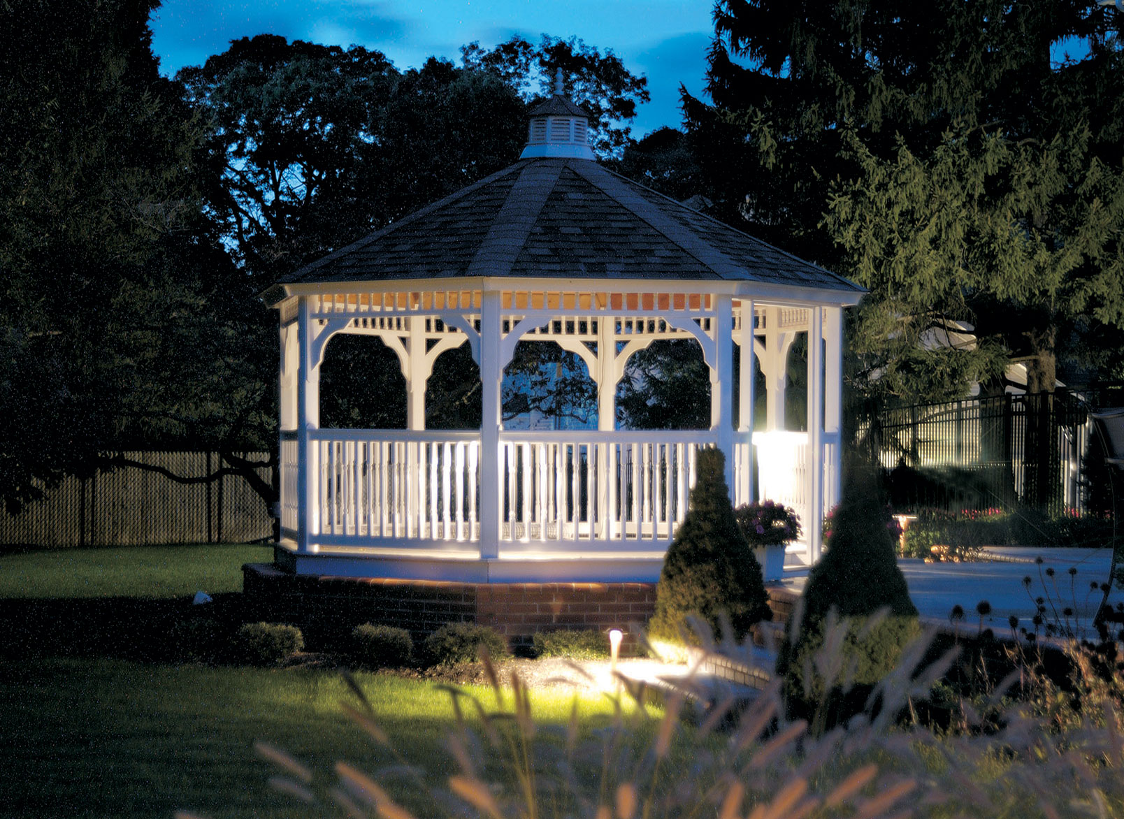 Special Event Asheville Outdoor Lighting