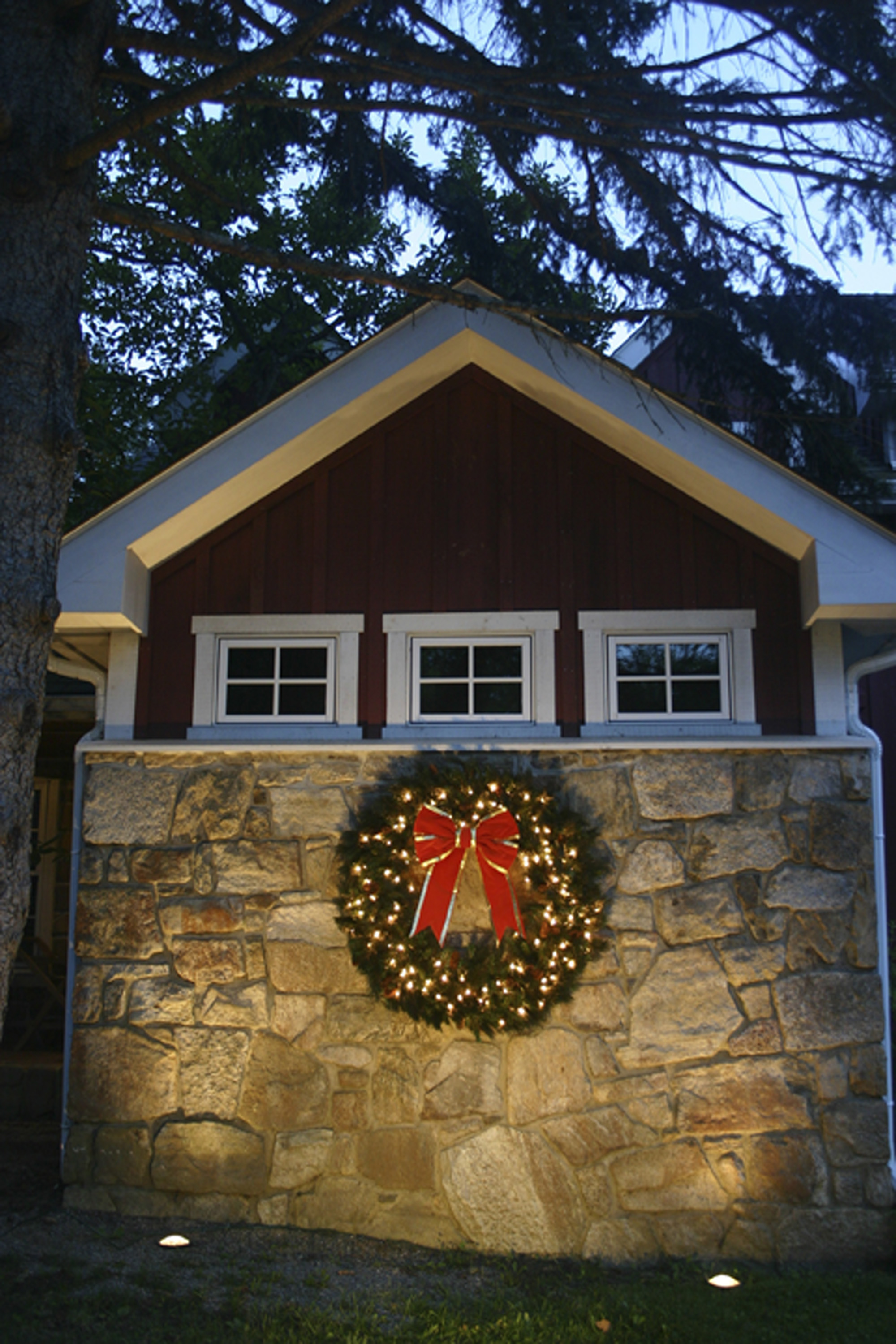 Wreaths   Garlands  Our pre lit  New Jersey Holiday Outdoor Lighting   Outdoor Lighting Perspectives. Outdoor Wreath With Led Lights. Home Design Ideas