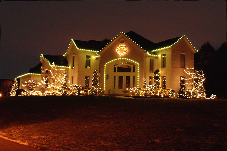 New jersey holiday outdoor lighting outdoor lighting - Christmas decorating exterior house ...