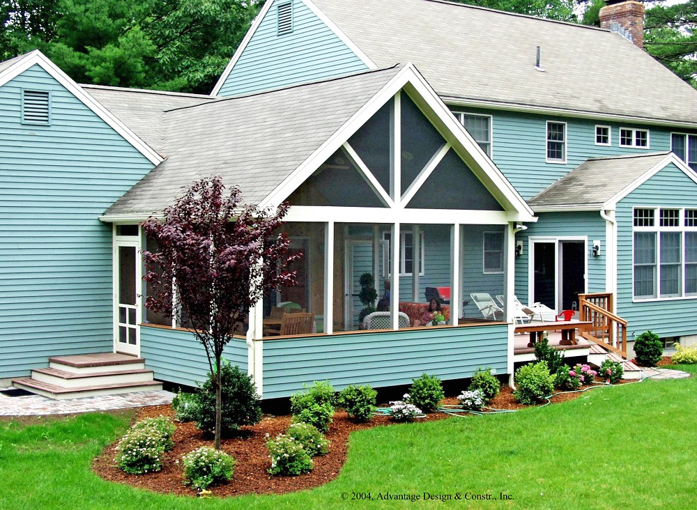 Screened porches archadeck outdoor living for What is a porch