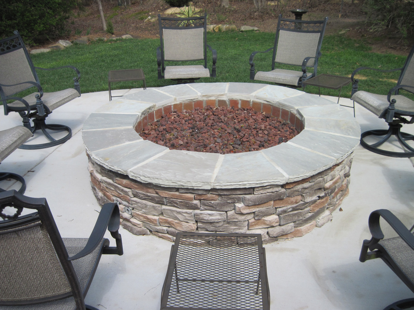 your premier salt lake city outdoor fireplace firepit builder