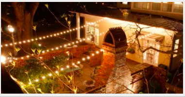 Outdoor String Lights And Tiki Torches Outdoor Lighting Perspectives