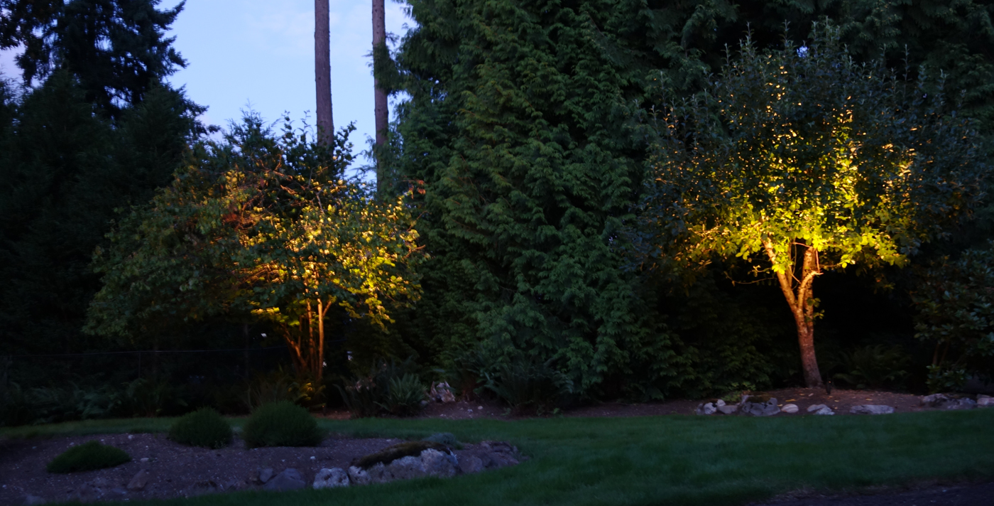 Blog outdoor lighting perspectives fall in seattle a perfect time for pumpkins more coffee and your annual led landscape lighting tune up mozeypictures Images