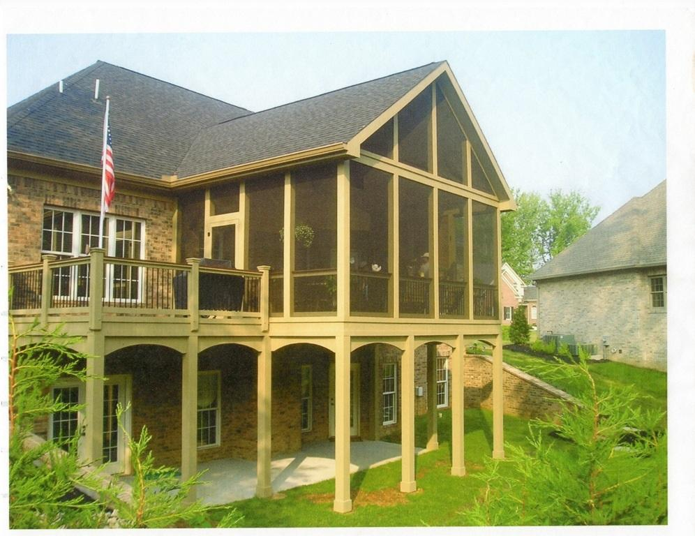 Knoxville screened porches covered porches and front porches for House with covered porch