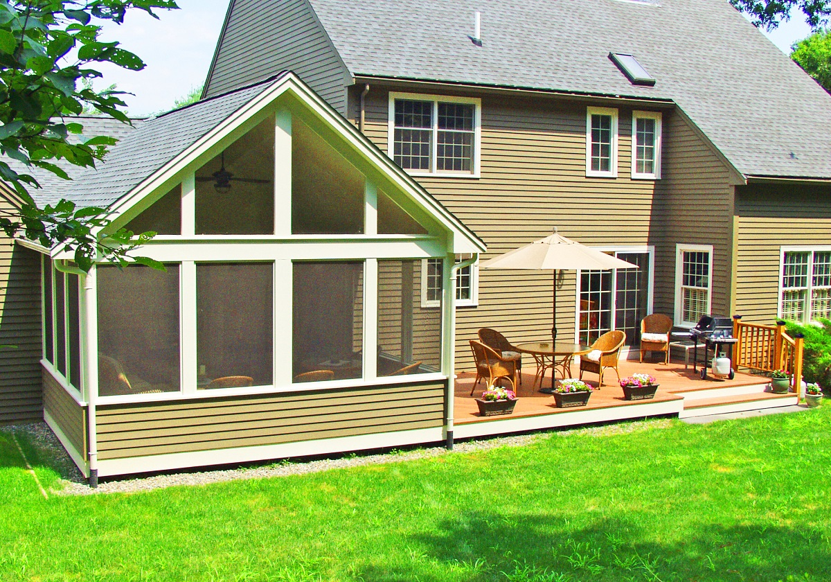 Porches archadeck outdoor living for Three season porch