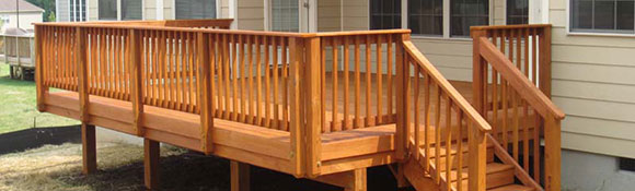 Raleigh Deck Cleaning / Deck Staining