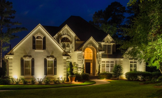 Nighttime Adjustment. Our Outdoor Lighting Installations ...