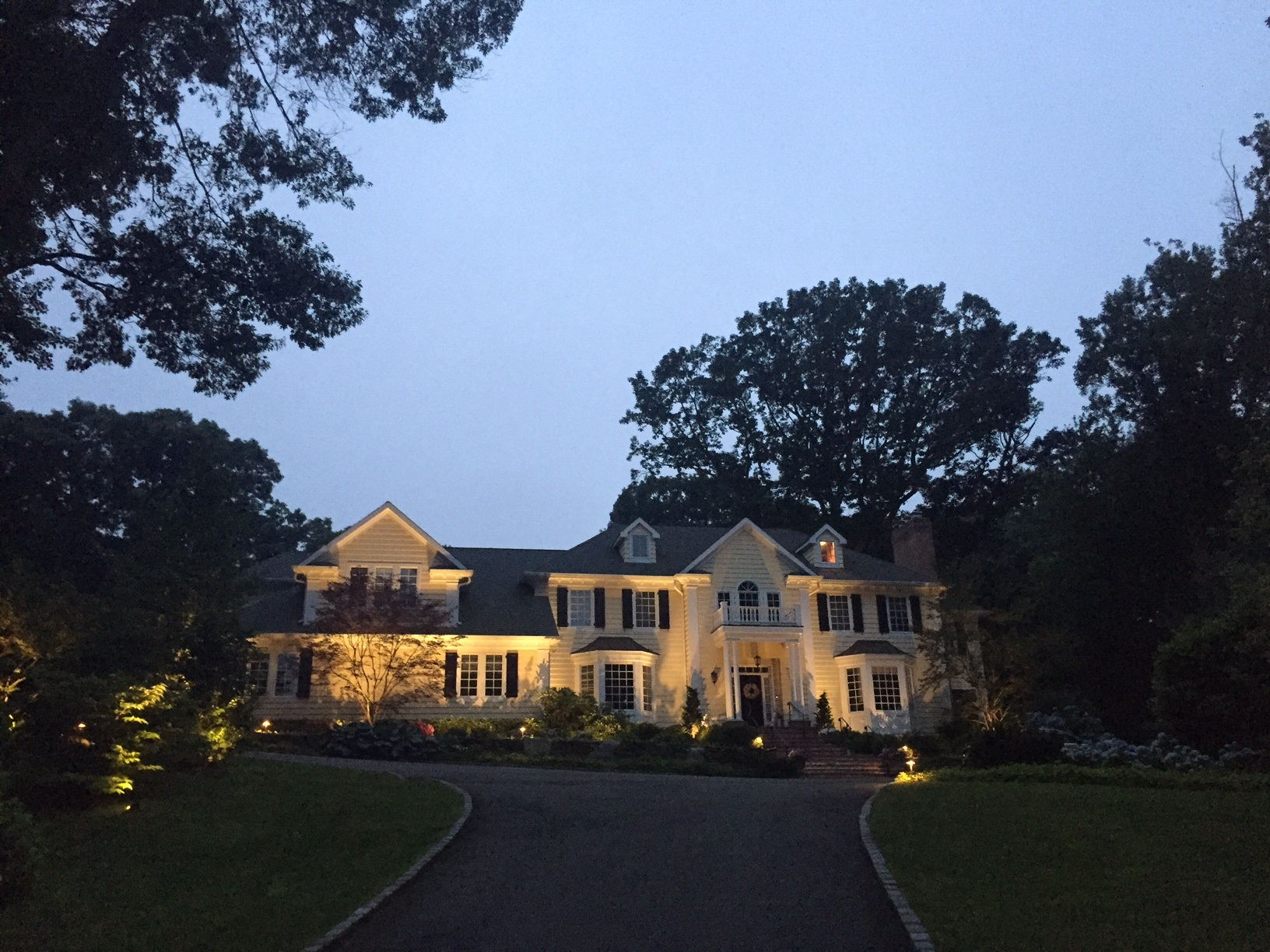If you already own a halogen outdoor lighting system  don t worry  We can  inspect your system to see if it is a candidate to retrofit your current  system to  Long Island LED Oudoor Lighting  Long Island LED Landscape Lighting . Manor House Outdoor Lighting. Home Design Ideas