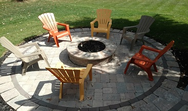 Lewis Center, OH, Curvilinear Patio Thumbnail