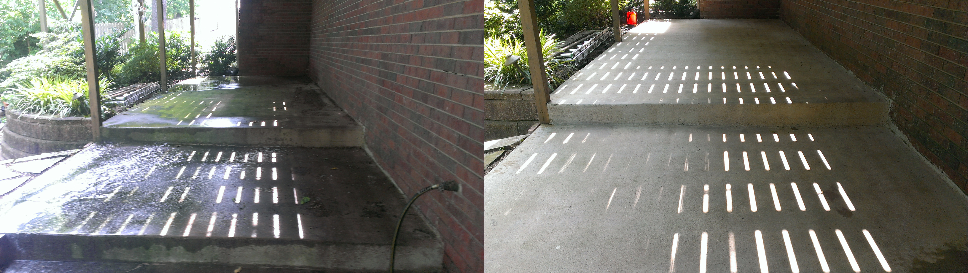 Concrete cleaning and sealing in Northwest Arkansas