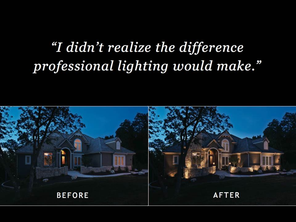 In Addition To Helping You Envision Your Home Illuminated, There Is Another  Crucial Benefit Of The Free Nighttime Demonstration. Our Design Plan Is  Based On ...