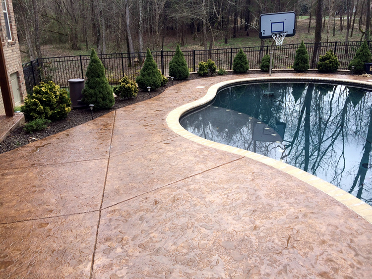 Greensboro pool patio