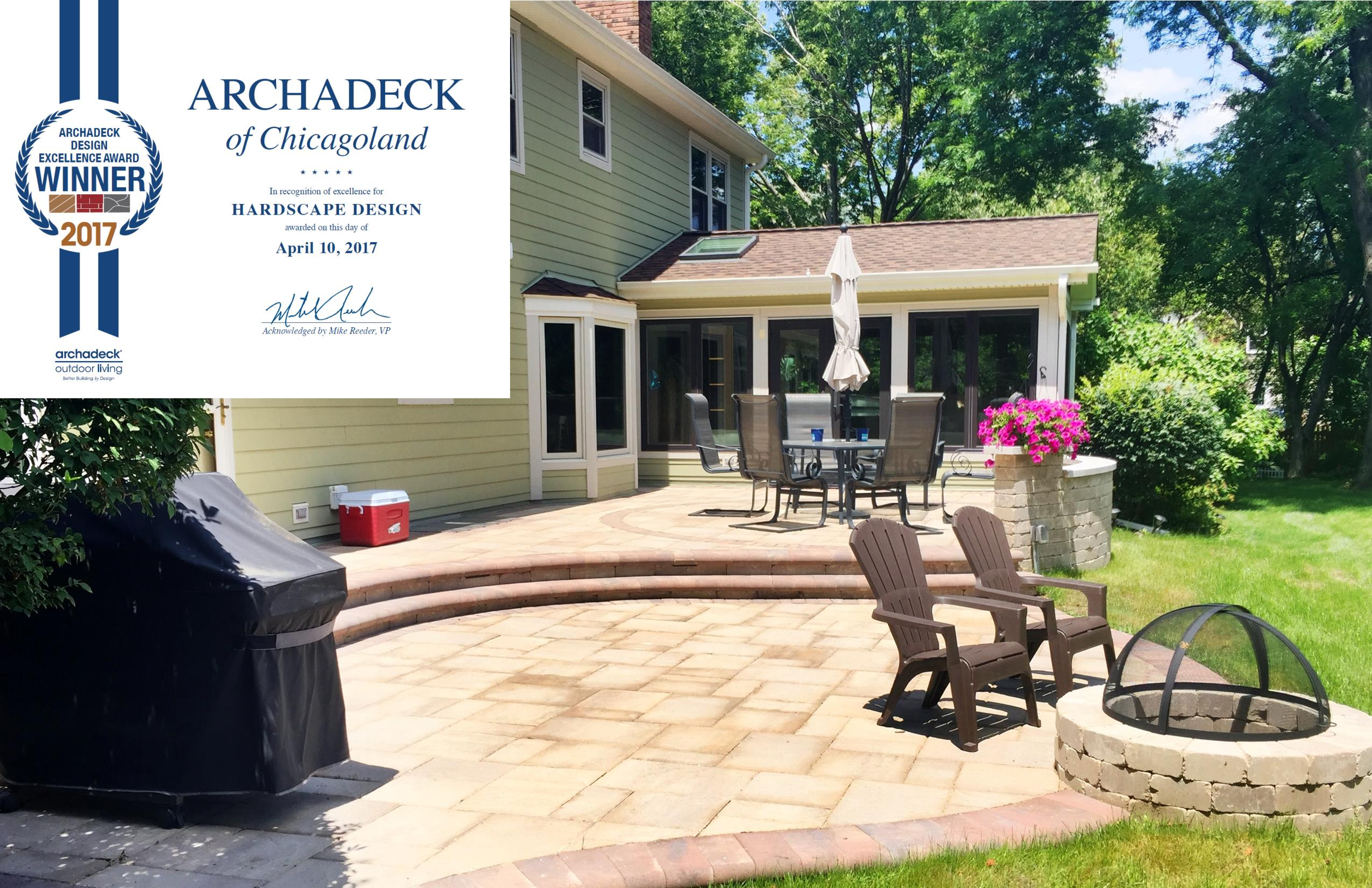 This Award Winning Project Is A Spacious, Multi Level Belgard Paver Patio,  Designed By Archadeck Design Consultant, Maggie Lawlor.