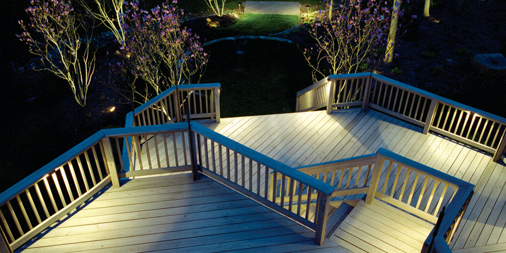 deck lighting company in Raleigh NC