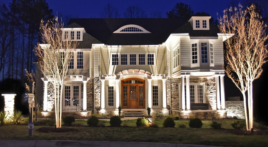 Leesburg outdoor lighting
